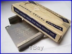 Vintage nos 1940s Firestone Visor tissues oil gas gm ford chevy rat rod pontiac