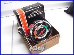 Vintage nos 60s chrome Auto dash Vacuum gauge gm ford chevy rat rod pontiac ss