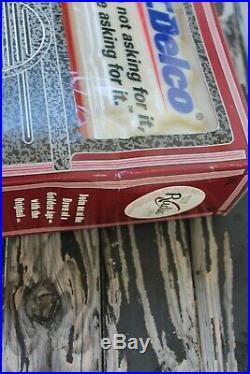 Vintage nos 70s ac delco radio accessory gm street hot rod made USA & key chain