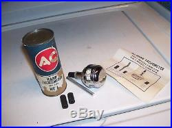 Vintage nos AC DELCO tachometer engine rpm tester tool gm ford chevy rat rod amc