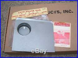Vintage nos Drive-in Window auto tray bar oil gas gm ford chevy rat rod pontiac