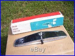 Vintage nos original GM 64-72 Delco Guide Glare-proof Day Night Rearview Mirror