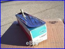 Vintage nos original GM 64-72 Delco Guide non Glare chevy chrome Rearview Mirror