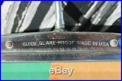 Vintage nos original GM Guide Rearview mirror glare-proof 10 auto Chevy Camaro