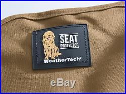 WeatherTech Medium Highback Bench Seat Protector for Trucks Cars SUVs in Tan