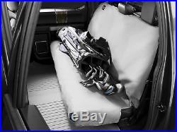 WeatherTech Medium Highback Bench Seat Protector in Black for Trucks Cars SUVs