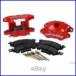 Wilwood 140-11291-R D52 Front Brake Caliper & Pad Kit