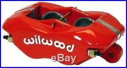 Wilwood 78-88 Monte Carlo Front Disc Big Brake Kit 12.19 Drilled Rotor Red