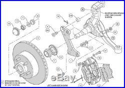 Wilwood Classic Series Dynalite Front Brake Kit Various Diameter 11 # 140-15272
