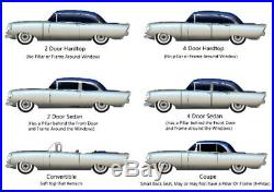 Window Sweep Felt Kit for 1962-64 Pontiac Bonneville Catalina Ventura Grand Prix