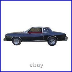 Window Sweeps Felt Kit for 1978-1980 Pontiac Grand Prix 2 Door Coupe OEM