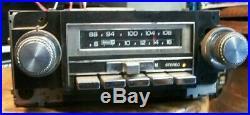 Works! 73-77 Chevy Pontiac Oldsmobile Buick Delco AM/FM Stereo 8 Track Tape Radio