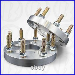X2 USA 5x4.5 to 8x170 (5 Lug Vehicle to 8 Lug Rim) Adapters / 1 Spacers